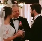 Sealed their marriage with the most epic handshake