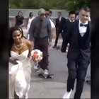 WCGW if I went skateboarding in my wedding dress.