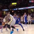 How the fuck? LeBron got moves