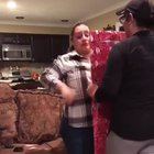 Her daughter coming home for Christmas, is the best present she could ever get