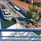 Another view of Venice cruise ship fail from above
