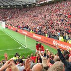 Take a bow son, my view of our wonderkid scoring his first goal, apologies for the aspect ratio