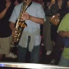 Guy brought a Sax to the Nightclub