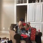 Dad's not happy with this gift for his daughter