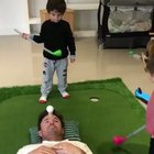 Wcgw if i let my kid play golf