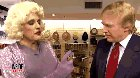 Donald Trump motor boating Rudy Guliani in drag.