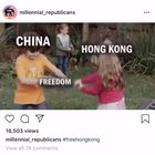 A little recap of what's happening on the Internet regarding the movement in Hong Kong