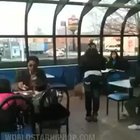 Hoodrat runs her mouth and throws a drink on a woman having lunch at McDonalds and pays for it with her vision