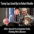 Trump says Good-Bye to Muller....