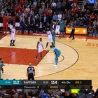 Jeremy Lamb half court buzzer beater to beat Toronto