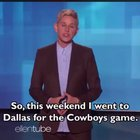 Ellen DeGeneres with a message everybody needs to hear