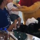Winnie the Pooh makes sure this little boy with cerebral palsy gets a magical experience when he visits Disney World