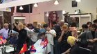 Video of packed Barber shop in Hanoi, Vietnam as people rush to get Trump and Kim haircuts.
