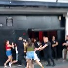 Girls vs bouncers in Argentina 🇦🇷