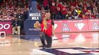 Christian & Scooby Halftime Performance Arizona Basketball