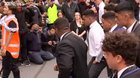 Christchurch schoolboys perform haka in show of respect for attack victims