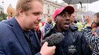 Black Trump supporter details what it's like wearing a #MAGA hat in London. PUBLICK OCCURRENCES