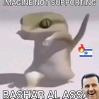 Al Lizard shows his support for Assad