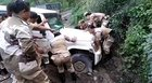 Look at the strength of Naga women Battalion lifting a vehicle from the side drain.