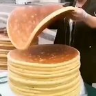 Crazy huge pancakes