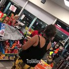 Lady tries using Toy Credit Card at store 😂