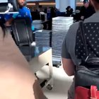 Sex toy in the luggage (his face tho)
